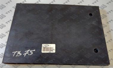 Защитная резиновая пластина ножа фрезы 160мм Geringhoff 511361