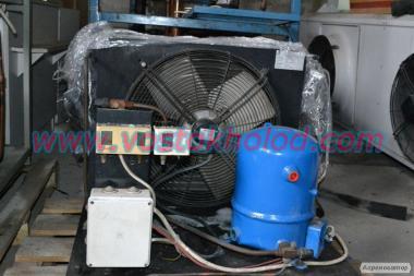 Агрегаты компрессорно‐конденсаторные различной комплектации.