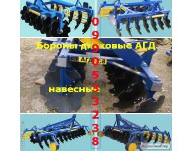 Тракторный агрегат АГД-2.1