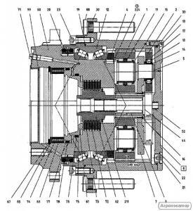 Ремонт гидравлики на Claas Lexion 480