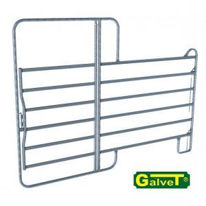 Секція металевого паркану