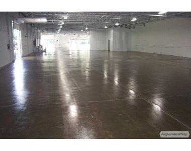 Бетонна підлога, знепилювання і зміцнення