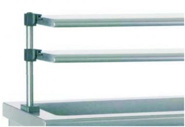 Полиця скляна 2-х ярусна SAV2175.2Р