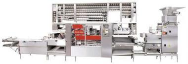 Формуючі машини для хлібобулочних виробів рогаликовые багетоформующие
