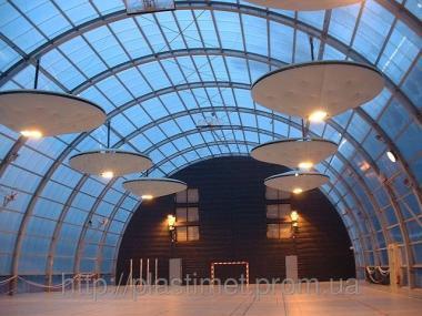 Поликарбонат сотовый (сотовый) Carboglass цвет 6000х2100х16 мм