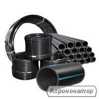 Полиэтиленовые трубы разных диаметров