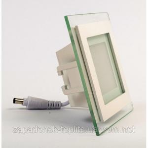 Світлодіодний вбудований світильник-панель