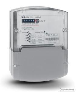 Счетчик НІК 2301 АК1, 5(10)А 3ф 3х220⁄380В, кл.точн.1 электромехан.