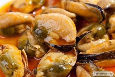 М'ясо мідій 100/200 Чилі, відмінна якість