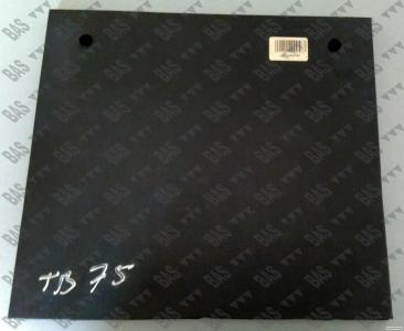 Захисна гумова пластина ножа фрези 250мм Geringhoff 511362