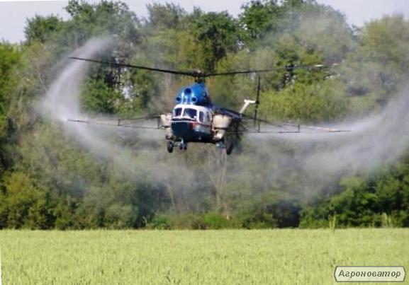 Авиахимработы вертолетом: авиахимобработка дельтапланом самолетом