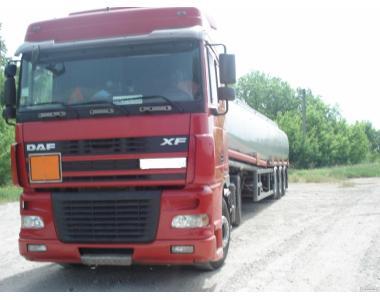Первезення нафтопродуктів бензовозом до 39 м3