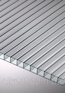 Полікарбонат стільниковий Polygal СТАНДАРТ 10 мм 2100x12000 мм прозорий