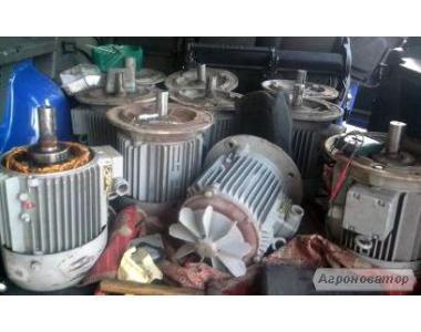 Продам електродвигуни, насоси, загальнопромислові