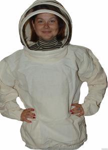 Куртка пчеловодная тк. бязь двуниточная 100% хлопок( плотная)
