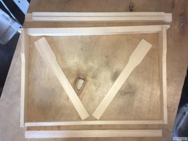 Виробництво ульевих рамок (дадан 300мм)