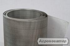 ткана нержавіюча сітка та ткана сітка з чорного металу.