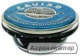 Икра черная веслоноса натуральная, Астрахань, стекло, 113 грамм