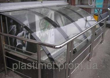 Поликарбонат монолитный, Policam, прозрачный 8 мм.