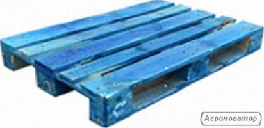 Поддоны евро 1200*800 цвет-синий