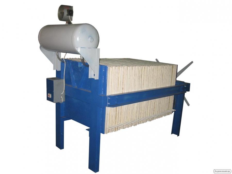Лінія фільтрації рослинних олій ЛФ-6