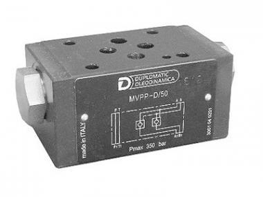 Зворотний клапан з пілотним керуванням (гідрозамок) СЕТОР 03 MVPP