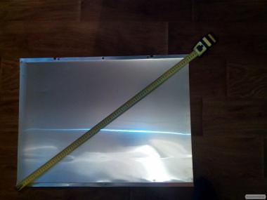 Листовой алюминий для покрытия крыш ульев. 23грн,