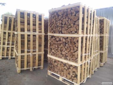 Подам дрова колотые, на экспорт