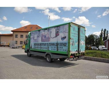Вантажний автомобіль Mercedes-Benz Atego 815