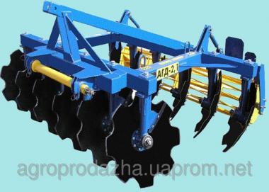 Дискатори ґрунтообробний АГД - 2,1
