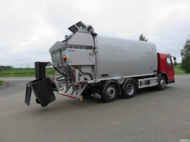 Ремонт гидравлического оборудования мусоровоза NTM