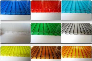 Стільниковий полікарбонат POLICAM кольоровий 6мм