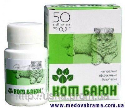 Кот Баюн для кошек и собак Веда (таблетки)