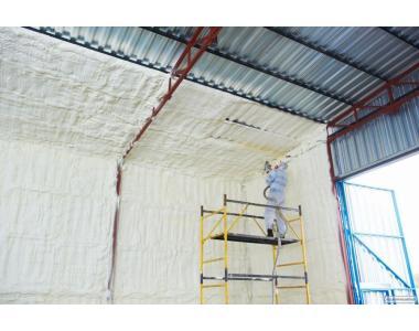 Услуги тепло-гидро изоляции пенополиуретаном овощехранилищ и др.