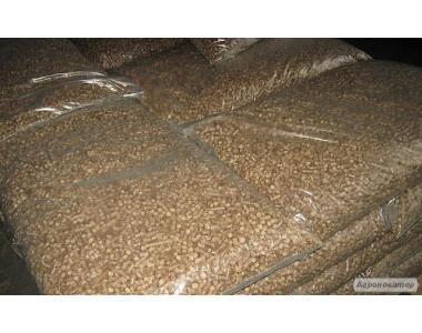 Топливные гранулы (пеллеты) 6 мм из древесины