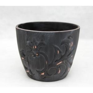 Вазон керамический