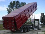 Зерновози-самоскиди, перевезення сільськогосподарської продукції