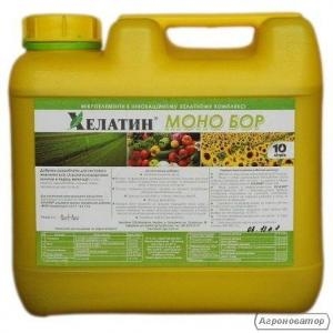 Хелатин моно Бор 10 л (хелатное микроудобрение)