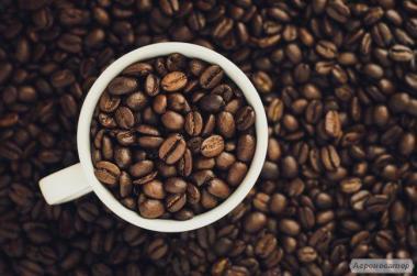 Предлагает широкий ассортимент зернового и молотого кофе