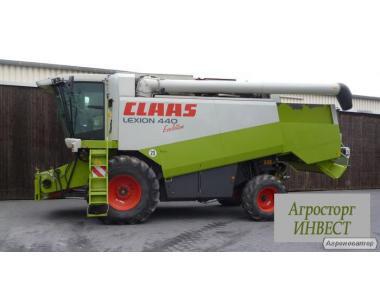 Комбайн зерноуборочный CLAAS LEXION 440