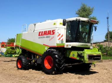 Комбайн Claas Lexion 460 Evolution (2002)