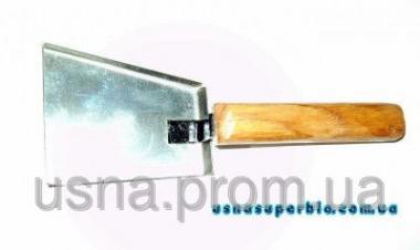 Скребок-лопатка для чищення вуликів (оцинковка)