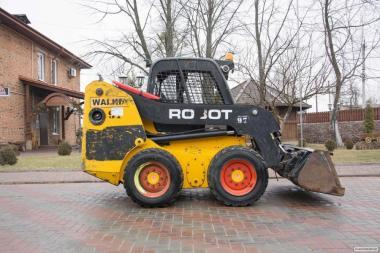 Навантажувач JCB Robot 160