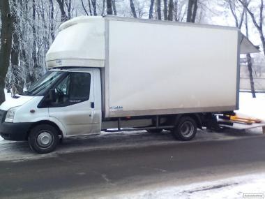 Вантажнi перевезення по Вiнницi, областi до 3 тонн. Гiдроборт.