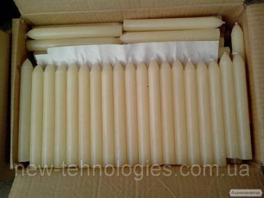 Свечи хозяйственные парафиновые 220мм*25 мм.