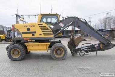 Экскаватор колесный Volvo EW 140 B