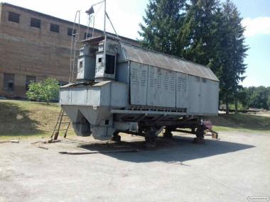 Шахтная передвижная зерносушилка ЗСПЖ-8