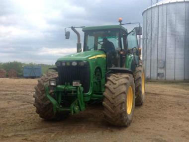 Трактор John Deere 8120 (2003)