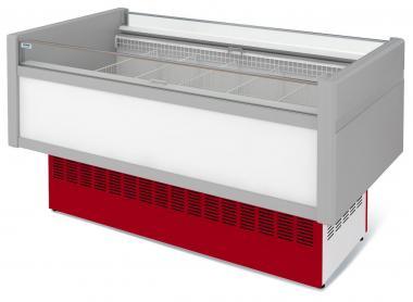 Низькотемпературна вітрина холодильна острівна ВХНо 1,2 Купець (боковини АБС)