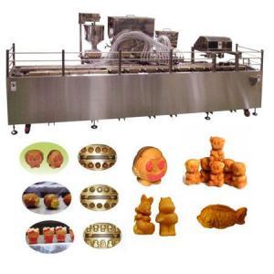 Автоматическая линия формования и выпечки кондитерских бисквитных изделий с начинкой типа мишки Барни TAWC-30